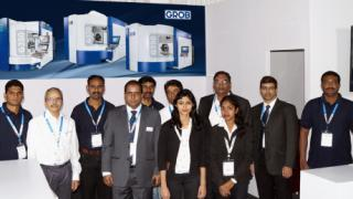 GROB at the IMTEX in Bangalore/India