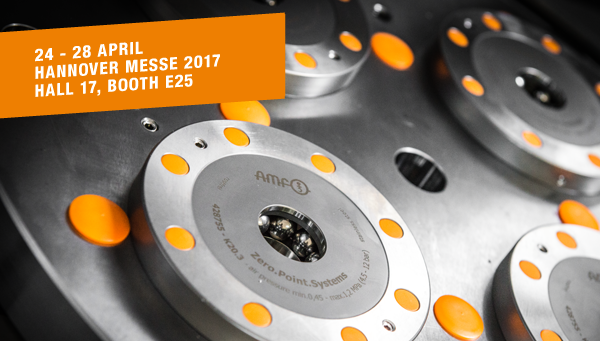 AMF at Hannover Messe 2017, 24 - 28 April