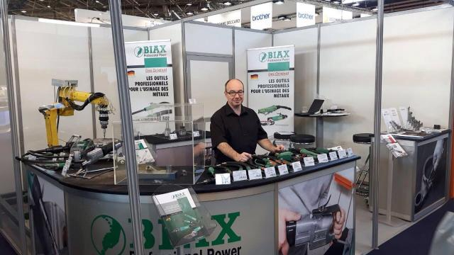 BIAX at the Salon Industrie in Lyon - BIAX en France au salon industrie à Lyon