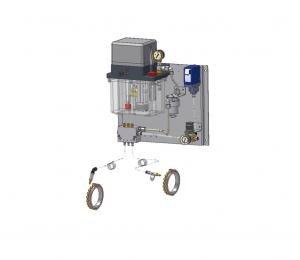 Air-oil lubrication system