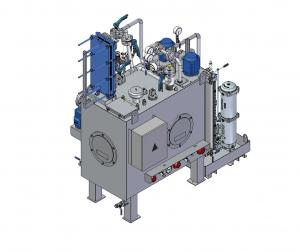 Oil circulation lubrication system