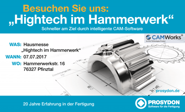 Hausmesse: Hightech im Hammerwerk