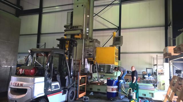 Bohrwerk Wotan Rapid 3K – Vorbereitung zum Versand