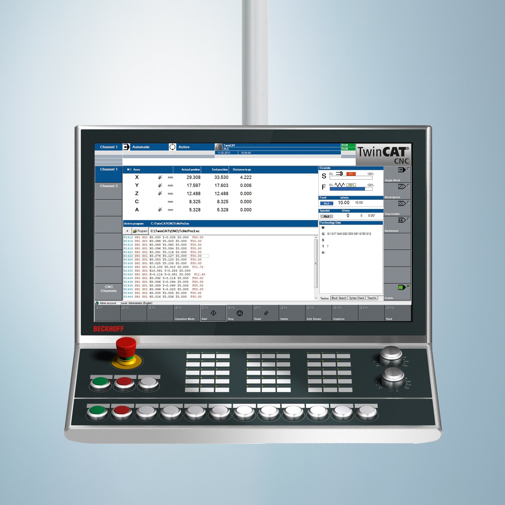 PC-based Control for CNC Machining - Beckhoff Automation