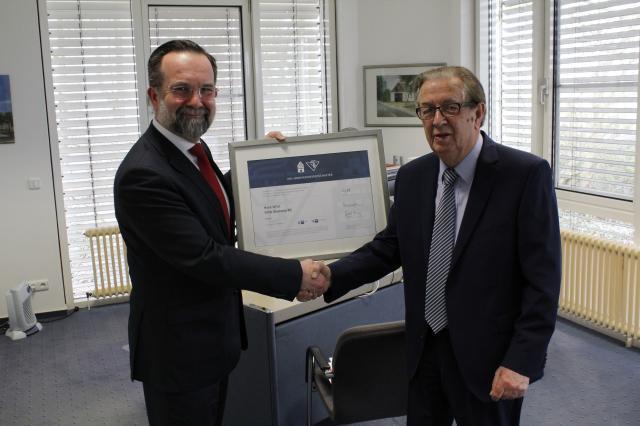 Horst Witte is appointed IHK Innovation Ambassador