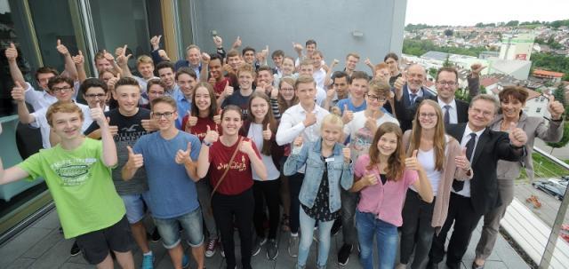 Jugend-Technik-Preis 2017: Da schlackerten die Gäste mit den Ohren!