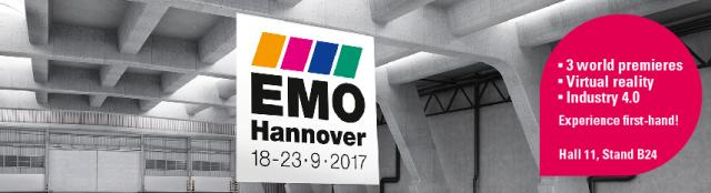 Invitation EMO 2017 - UNITED GRINDING Group