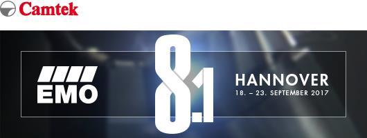 Sichern Sie sich Ihre kostenlose EMO-Eintrittskarte und besuchen Sie Camtek in Halle 25, Stand C08
