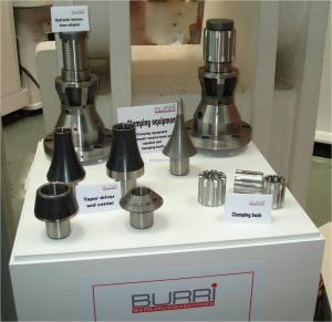 Burri clamping devices