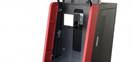 30W Desktop Metal Laser Engraver With Enclosure Design