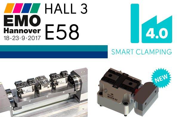 Besuchen Sie uns in Halle 3, Stand E58 und entdecken Sie unser neues Spannsystem BLOCK-SC 4.0
