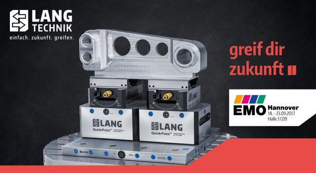 Vorschau: LANG Technik auf der EMO Hannover 2017