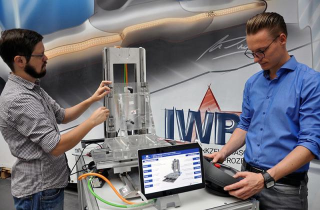 Energetischer Fußabdruck von Maschinen zur präziseren Prozessplanung