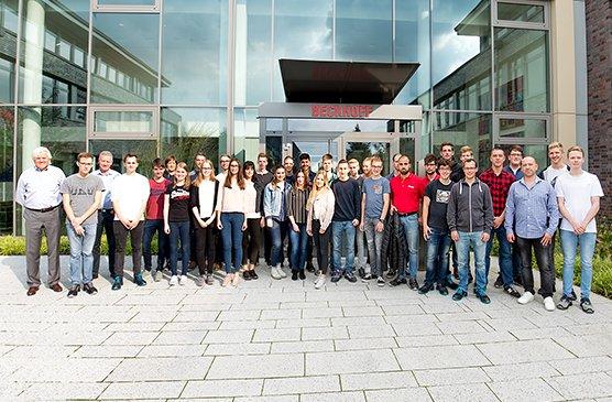 Ausbildungsstart bei Beckhoff - Zukunft gestalten: beim weltweit erfolgreichen Technologieführer in