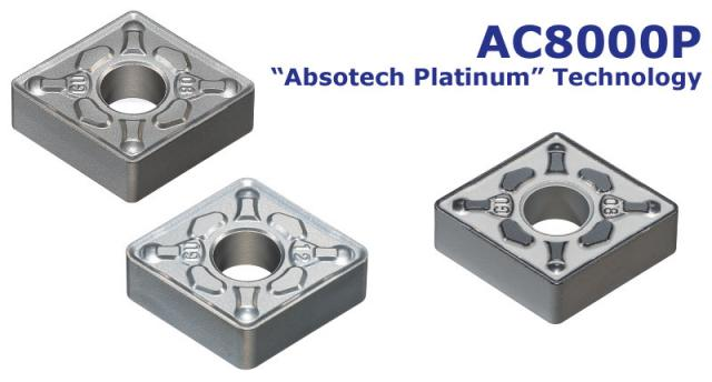 Tooling News: AC8000P Series - Coated grades for steel turning