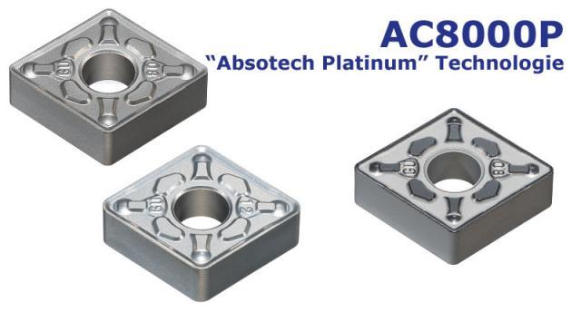 Tooling News: AC8000P Serie - Beschichtete Drehsorte für die Stahlbearbeitung
