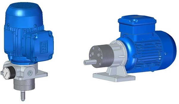 Gear pumps and accessories for circulation systems