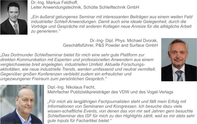 """Tagungsprogramm des 7. Dortmunder Schleifseminar """"METAV-Spezial 2018"""" online"""