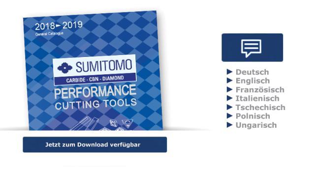Sumitomo Katalog 2018-2019 jetzt verfügbar
