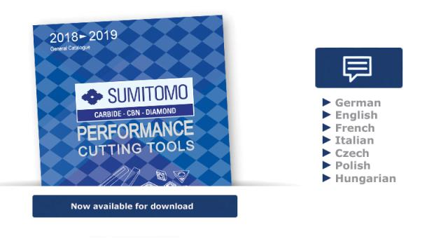 Sumitomo Catalogue 2018-2019 now available