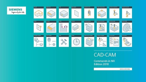 SIEMENS NX CAD-CAM poster and wallpaper for download