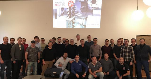 Internationales SolidCAM PP-Techniker Meeting - Ohne Fleiß, kein Preis ...