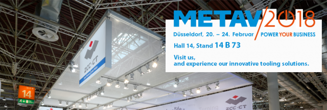 Visit us at METAV 2018