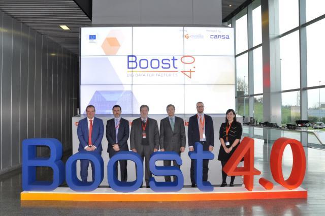 Die Innovalia-Gruppe leitet das BOOST 4.0-Projekt - eine der größten Big-Data-Initiativen Europas