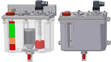 INTZA: Aufbewahrungsbehälter für Öl