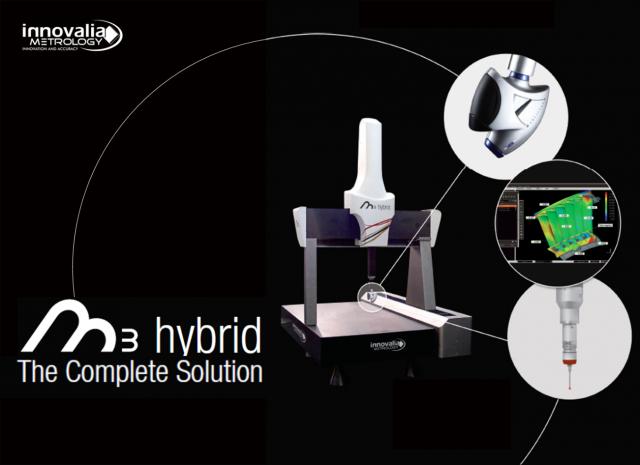 M3 Hybrid: Die komplette Messtechniklösung, die zu intelligenter Fertigung führt