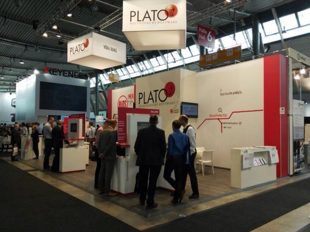 PLATO auf der internationalen Fachmesse für Qualitätssicherung in Stuttgart