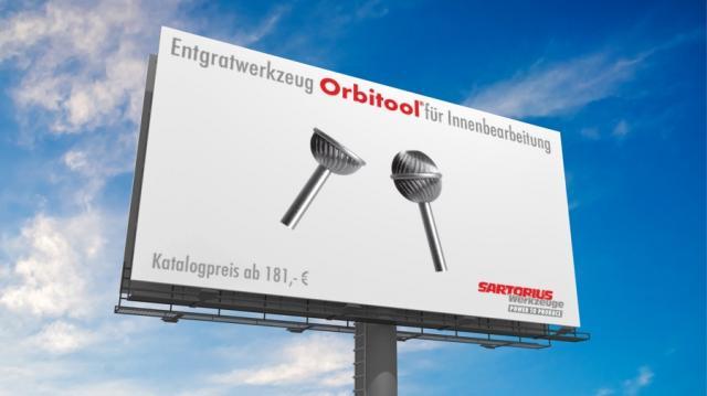 Entgratwerkzeug Orbitool® für Innenbearbeitung