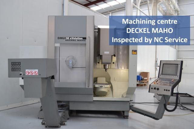 Do you know how a 5 axis Deckel Maho VMC works? Nicolás Correa Service shows it to you
