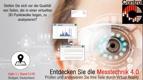 Innovalia Metrology präsentiert auf der Control seine innovativen Messtechnik-Lösungen rund um M3