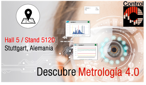 Innovalia Metrology expone en la Control sus soluciones metrológicas más innovadoras alrededor de M3