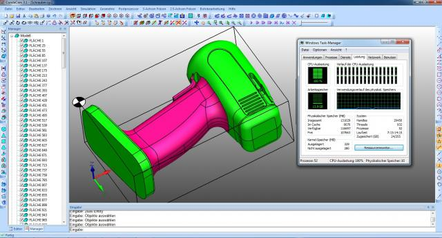 Condacam Multicore-Technologie. Was bringt es in der CNC-Fertigung?