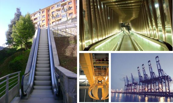 Lubrication systems for elevation: cranes, lifts, ramps, etc.