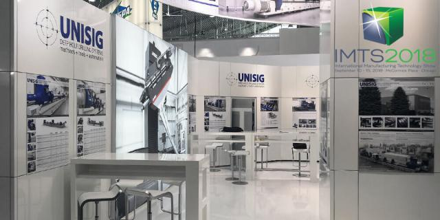 UNISIG auf der IMTS 2018 in Chicago