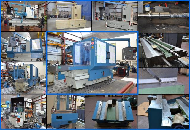 The CORREA CF20/20 milling machine are now ready after refurbishment by Nicolás Correa Service!