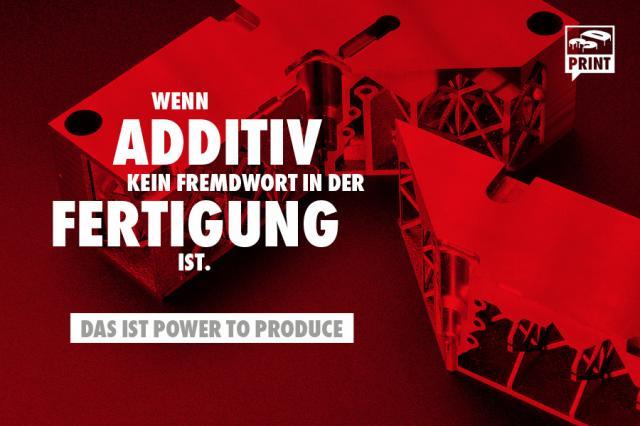 Additive Fertigung in höchster Qualität. Weltweit.