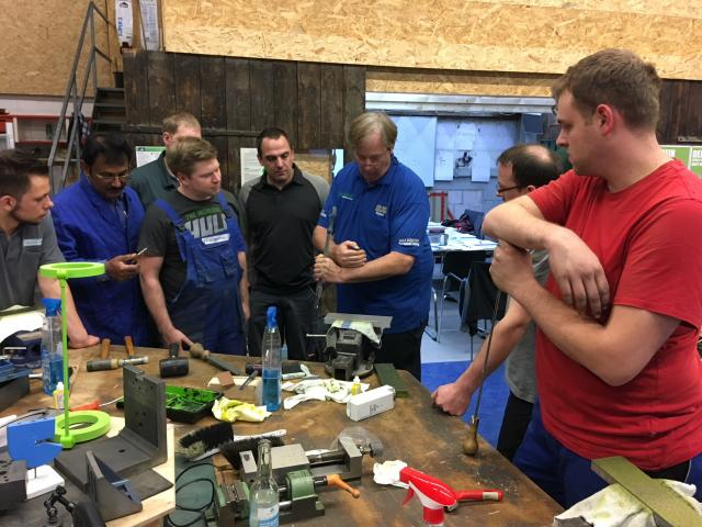 European Scraping Classes with RIchard King: few vacant places left