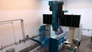 Nicolás Correa Service retrofits a CORREA FP40/40, 5-axis bridge type milling machine