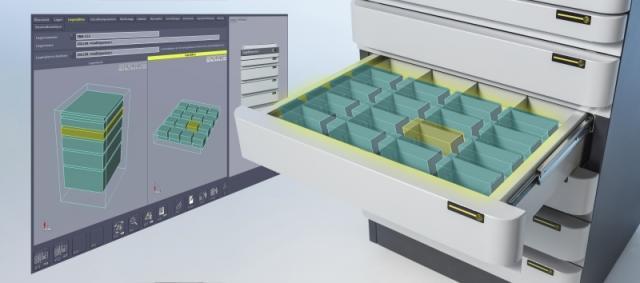 Ausstattung des kompletten Toolroom