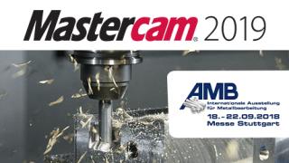 Mastercam auf der AMB 2018: Neue CAD/CAM – Version mit vielen Highlights