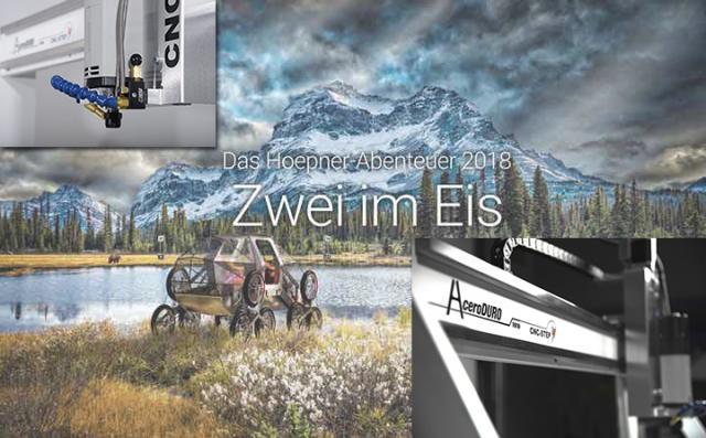 """Sponsoring für das Alaska-Abenteuer """"Zwei im Eis"""""""