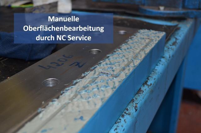 Oberflächenbearbeitung durch NC Service