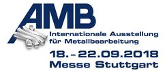 Visit us at AMB 2018 in Stuttgart: Hall 1, booth no. B84!