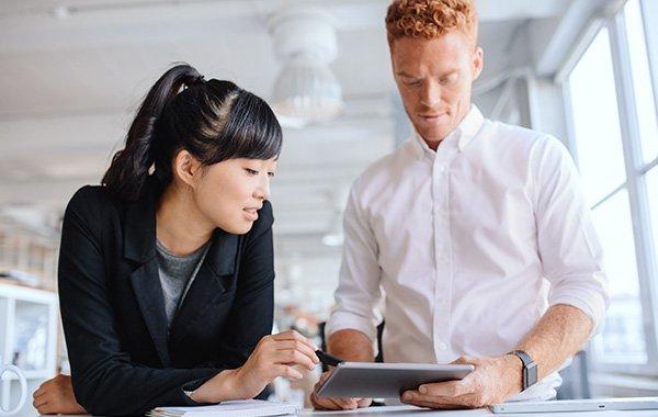 Arbeiten, wo auch Ihre berufliche Laufbahn perfekte Formen annimmt.