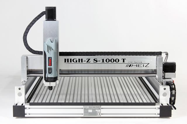 CNC Fräse mit höchster Präzision und High-Speed: High-Z S-1000/T