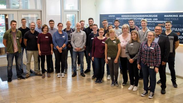 AMF freut sich über 10 neue Auszubildende